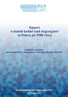 Raport o stanie badań nad migracjami w Polsce po 1989 roku