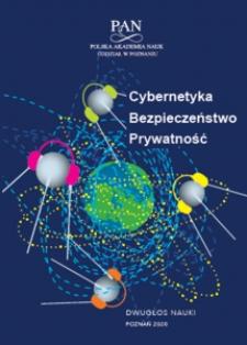 Cybernetyka, bezpieczeństwo, prywatność