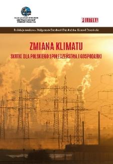 Zmiana klimatu - skutki dla polskiego społeczeństwa i gospodarki