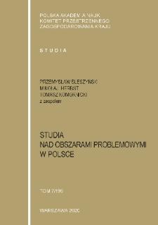 Studia nad obszarami problemowymi w Polsce